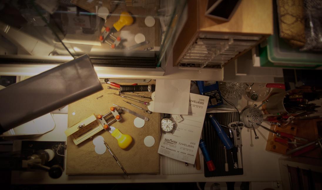 Reparatie service van sieraden en horloges
